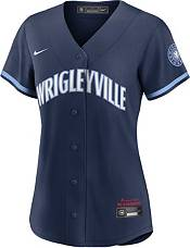 Nike Women's Chicago Cubs Navy 2021 City Connect Cool Base Jersey product image