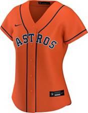 Nike Women's Replica Houston Astros Jose Altuve #27 Cool Base Orange Jersey product image