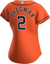 Nike Women's Replica Houston Astros Alex Bregman #2 Cool Base Orange Jersey product image