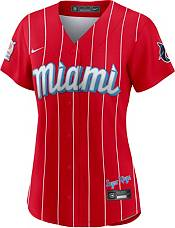 Nike Women's Miami Marlins Red 2021 City Connect Cool Base Jersey product image