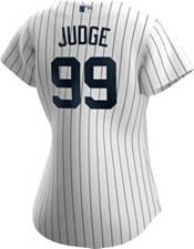 Nike Women's Replica New York Yankees Aaron Judge #99 Cool Base White Jersey product image