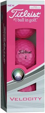 Titleist Velocity Pink Golf Balls - Prior Generation product image