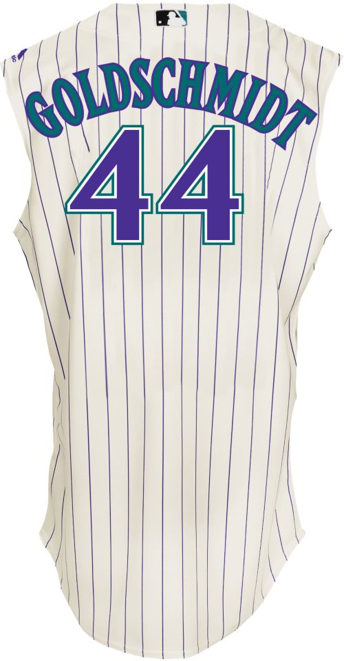 f7e8b3a50 Majestic Men's Arizona Diamondbacks Paul Goldschmidt #44 White Turn Back  The Clock Authentic Flex Base Jersey. noImageFound. Previous. 1. 2. 3