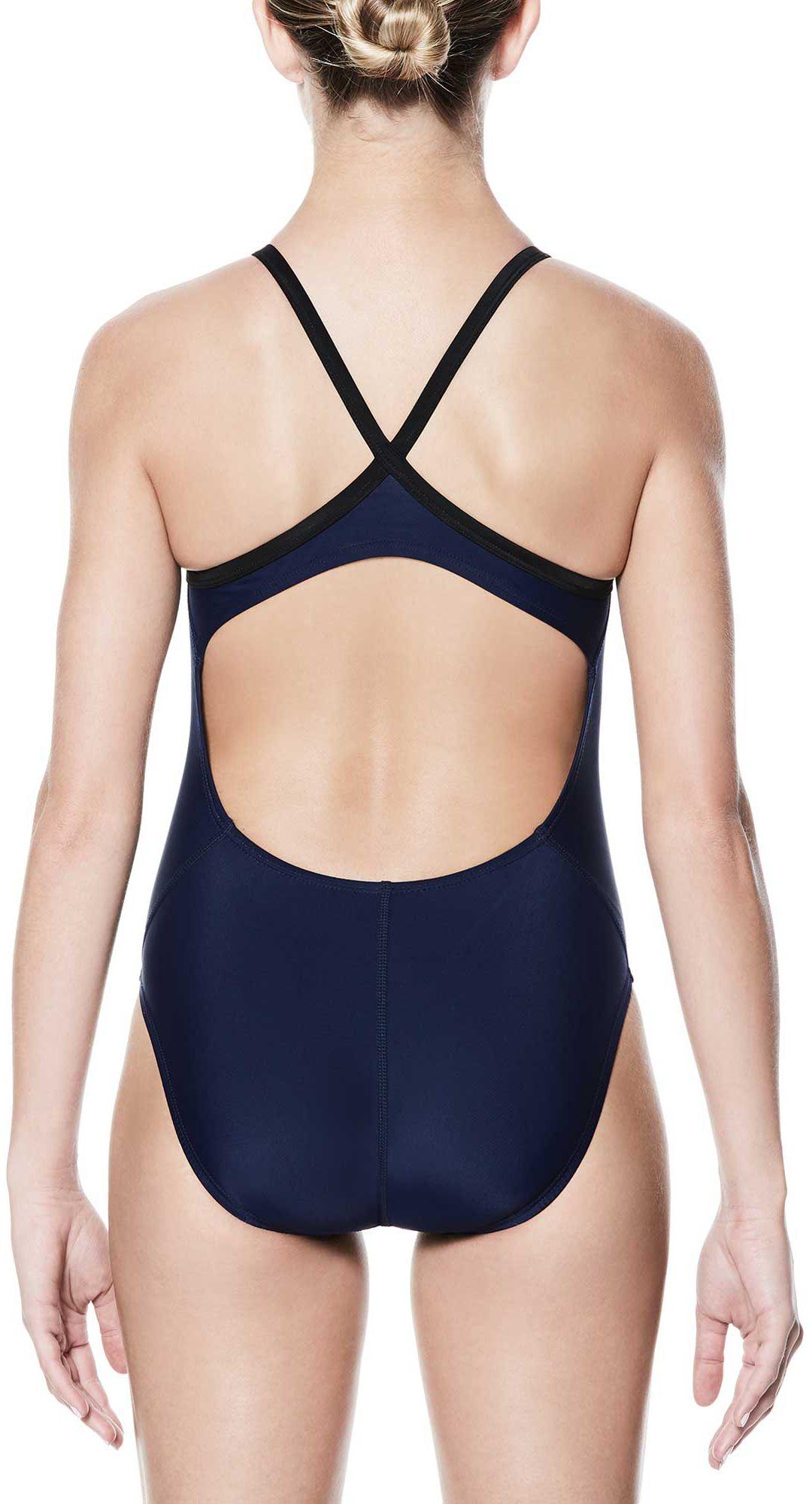83bc9a873ba Nike Women's Nylon Core Solid Lingerie Tank Swimsuit