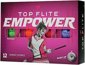Top Flite Women's 2020 EMPOWER Matte Multi-Color Personalized Golf Balls product image