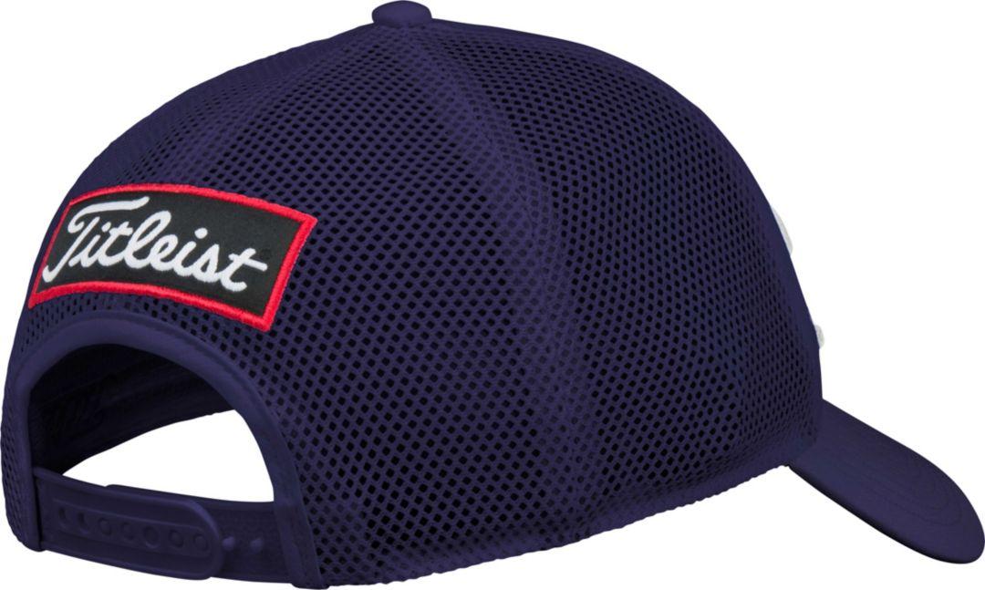 56957c120f4f6e Titleist Men's Tour Mesh Snapback Golf Hat   DICK'S Sporting Goods