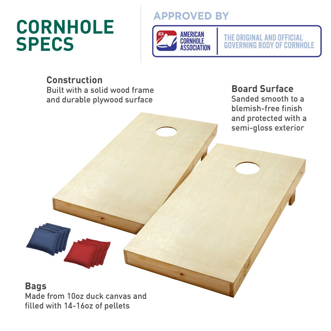 Remarkable Quest 2 X 4 Traditional Cornhole Board Set Theyellowbook Wood Chair Design Ideas Theyellowbookinfo