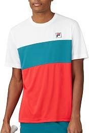 FILA Men's Legend ColorBlock Crewneck Tennis Shirt product image