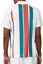 FILA Men's Stripe Print Tennis Polo product image