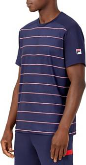 FILA Men's Heritage Tennis Striped Crew T-Shirt product image