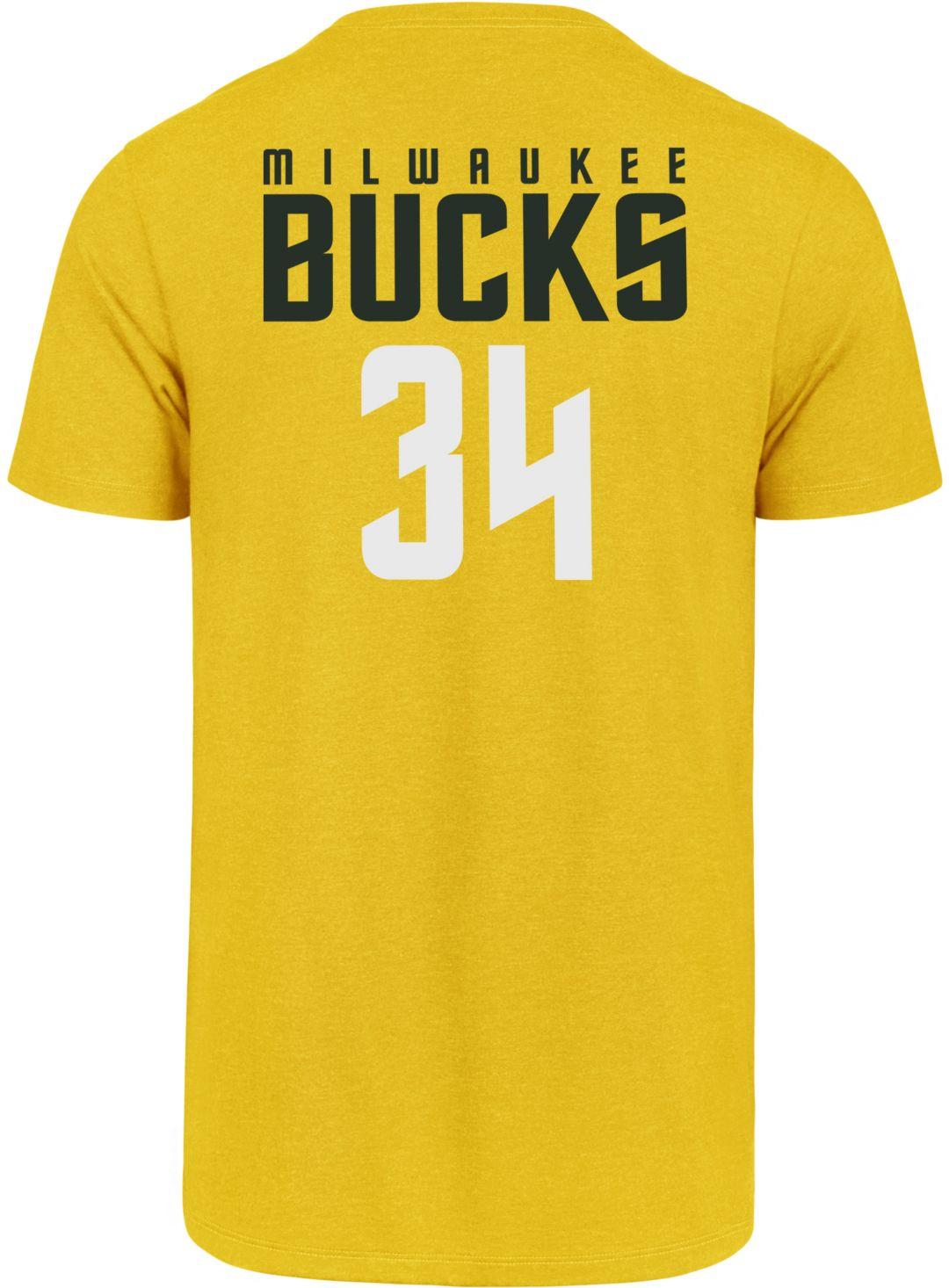 brand new b0032 045e3 '47 Men's Milwaukee Bucks Giannis Antetokounmpo T-Shirt