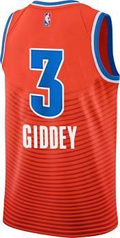 Jordan Men's Oklahoma City Thunder Josh Giddey #3 Orange Dri-FIT Swingman Jersey product image