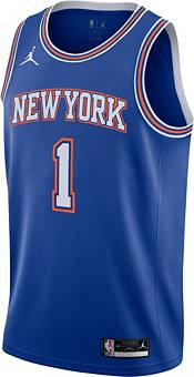 Nike Men's New York Knicks Obi Toppin Royal Blue Icon Jersey product image