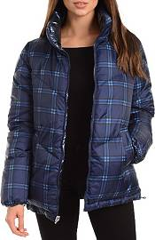 Kendall+Kylie Women's Plaid Puffer Jacket product image