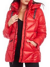 Kendall+Kylie Women's Hooded Puffer Jacket product image