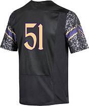 Under Armour Men's Northwestern Wildcats #51 Replica Football Black Jersey product image