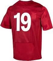 Under Armour Men's Wisconsin Badgers #19 Red 'CFB150' Replica Football Jersey product image