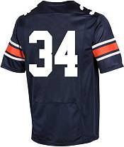 Under Armour Men's Auburn Tigers #34 Blue Replica Football Jersey product image