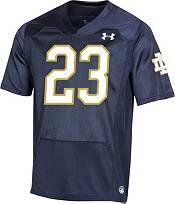 Under Armour Men's Golden Tate Notre Dame Fighting Irish #23 Navy Replica Football Jersey product image