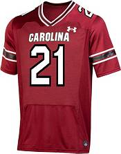 Under Armour Men's South Carolina Gamecocks #21 Garnet Replica Football Jersey product image