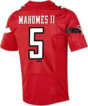 Under Armour Men's Patrick Mahomes II Texas Tech Red Raiders #5 Red Replica Football Jersey product image