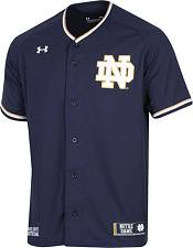 Under Armour Men's Notre Dame Fighting Irish Navy Replica Baseball Jersey product image