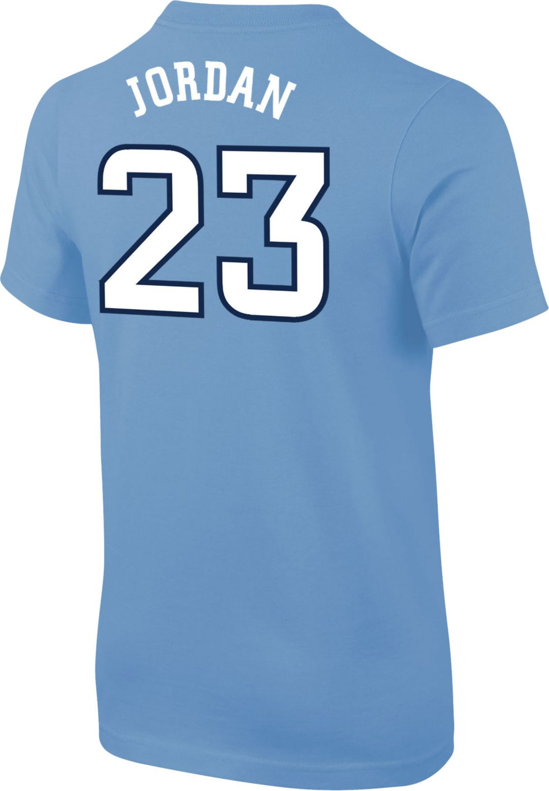 b36eea989c0 Jordan Youth North Carolina Tar Heels Michael Jordan #23 Carolina Blue  Future Star Replica Basketball Jersey T-Shirt. noImageFound. Previous. 1.  2. 3