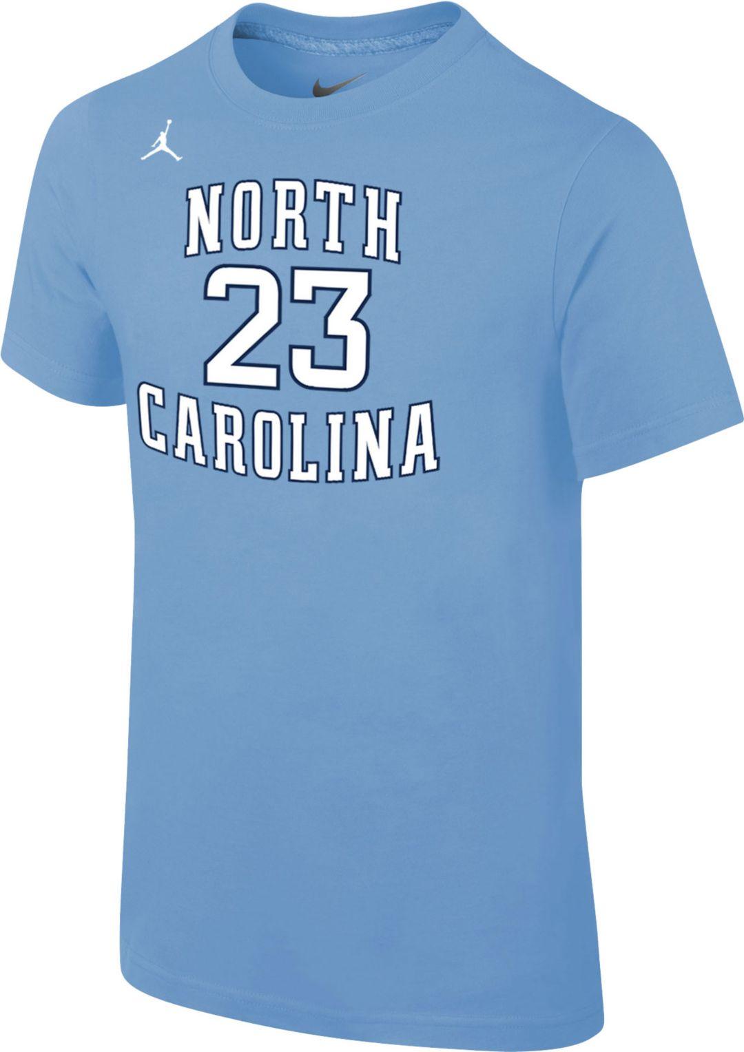 a4b501343e6 Jordan Youth North Carolina Tar Heels Michael Jordan #23 Carolina Blue  Future Star Replica Basketball