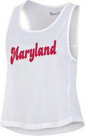 Under Armour Women's Maryland Terrapins Red Gameday Performance Pinnie product image