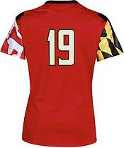 Under Armour Women's Maryland Terrapins #19 Red Replica Football Jersey product image