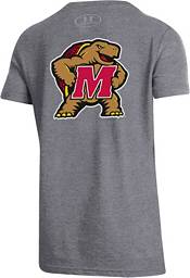 Under Armour Youth Maryland Terrapins Grey 'Fear The Turtle' T-Shirt product image