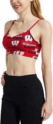 Concepts Sport Women's Wisconsin Badgers Red Zest Knit Bralette product image