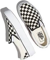 Vans Classic Slip-On Checkered Platform Shoes product image