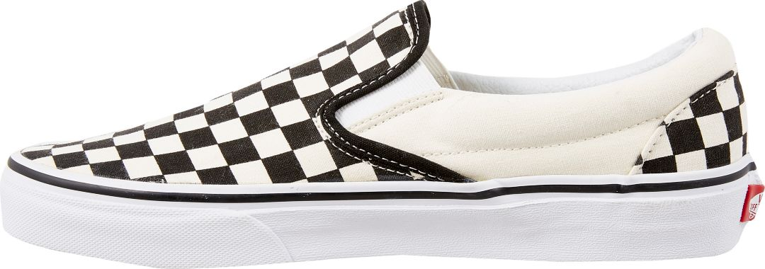 Clearance sale popular stores free delivery Vans Men's Checkerboard Slip-On Shoes