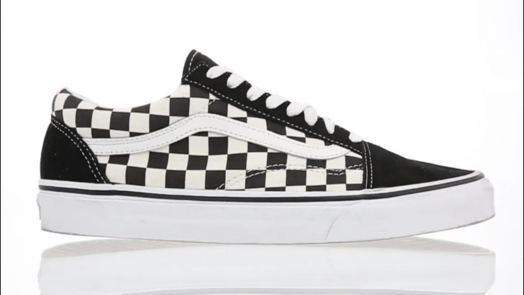 big sale best service how to get Vans Men's Primary Check Old Skool Shoes