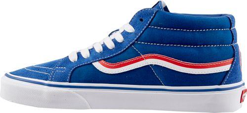 45a253da8d Vans Men s SK8-Mid Reissue MLB Cubs Shoes