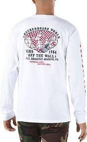 Vans Men's Checkerboard World Long Sleeve Shirt product image