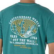 Vans Men's Vintage Checkerboard World Graphic T-Shirt product image