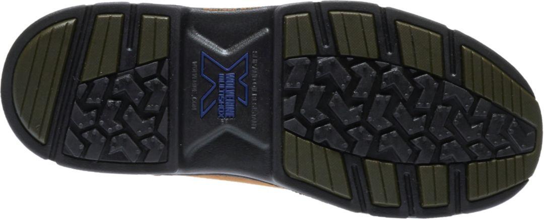 28011d25a56 Wolverine Men's Marauder 10'' Wellington 400g Waterproof Steel Toe Work  Boots