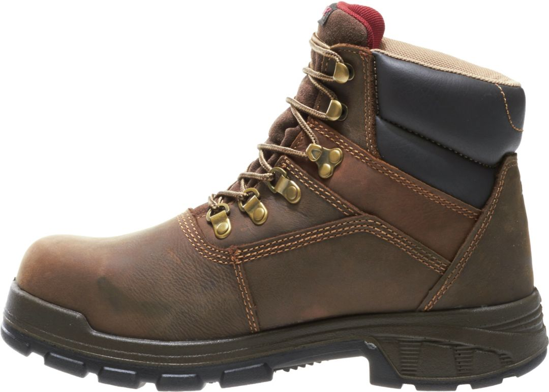 """a899b7d11a4 Wolverine Men's Cabor 6"""" Waterproof Composite Toe Work Boots"""