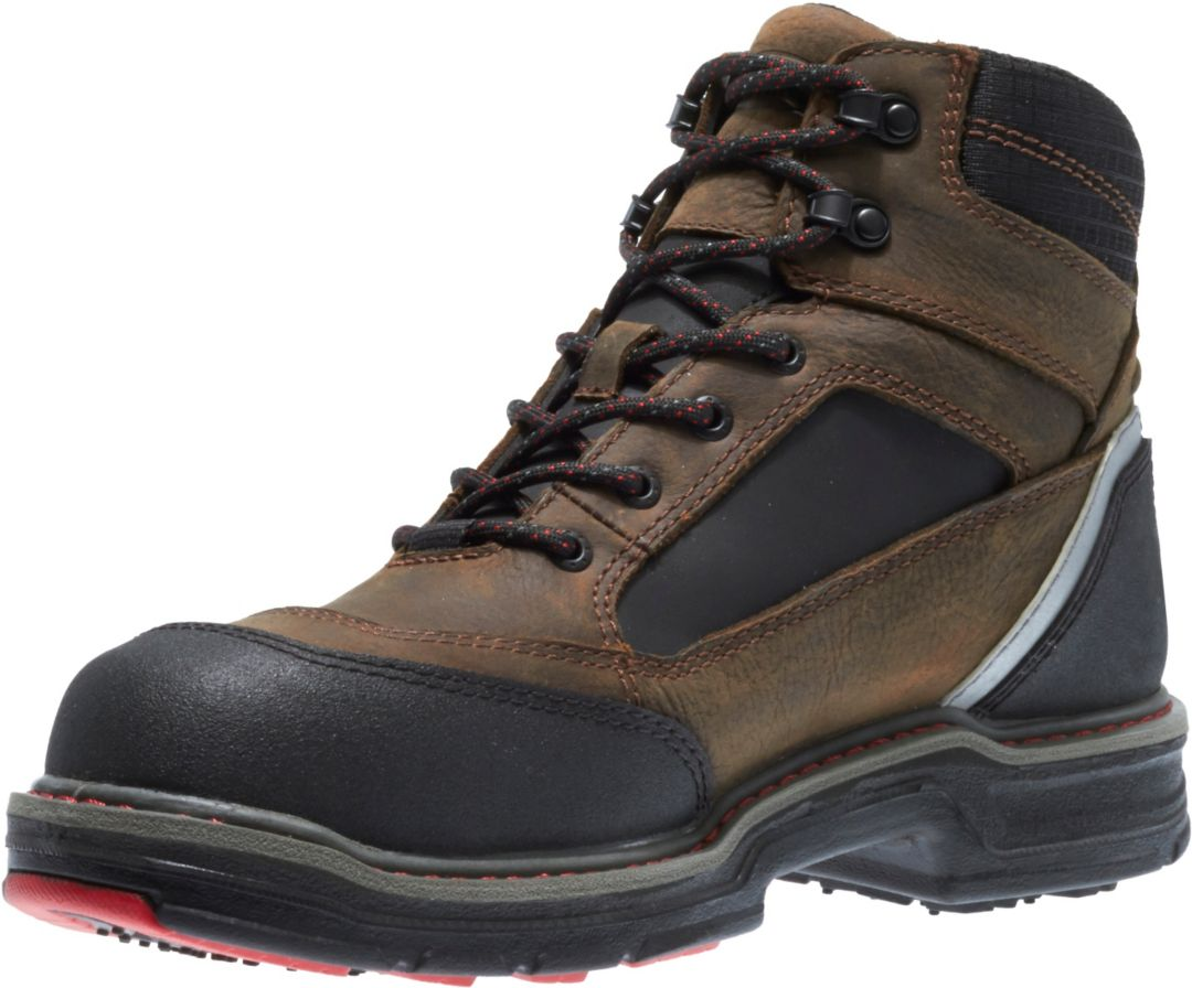 "0ca694eb739 Wolverine Men's Overman 6"" Composite Toe Work Boots"