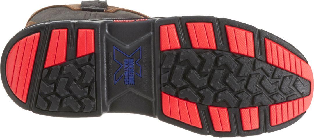 ffb724cc0cc Wolverine Men's Overman Waterproof CarbonMax 10'' EH Work Boots ...