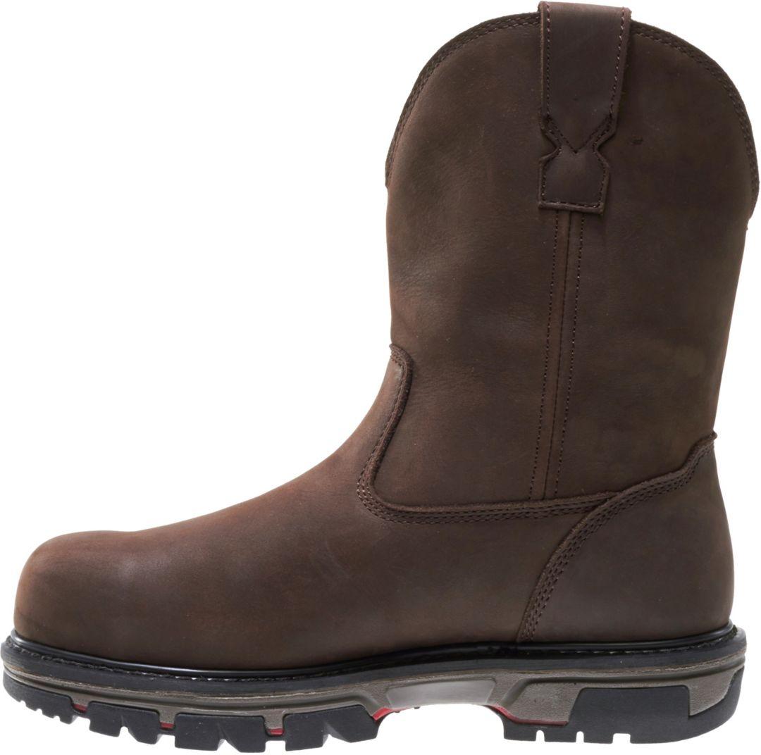 db1b33cbf5d Wolverine Men's Nation 10'' Wellington Composite Toe Work Boots
