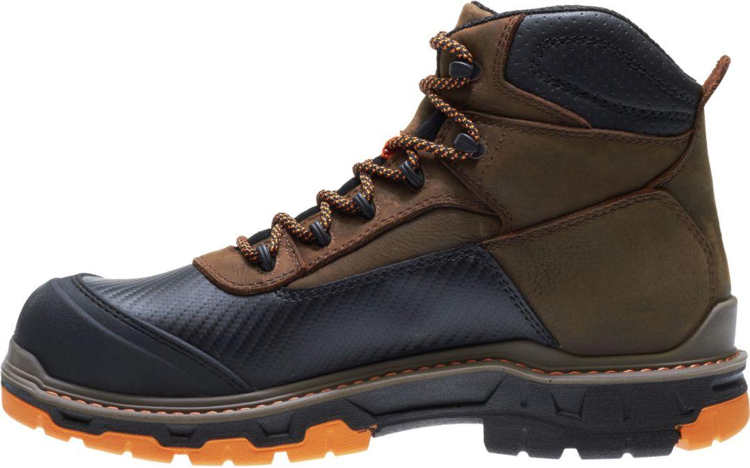 ba6dfae8938 Wolverine Men's Overpass 6'' Waterproof Work Boots