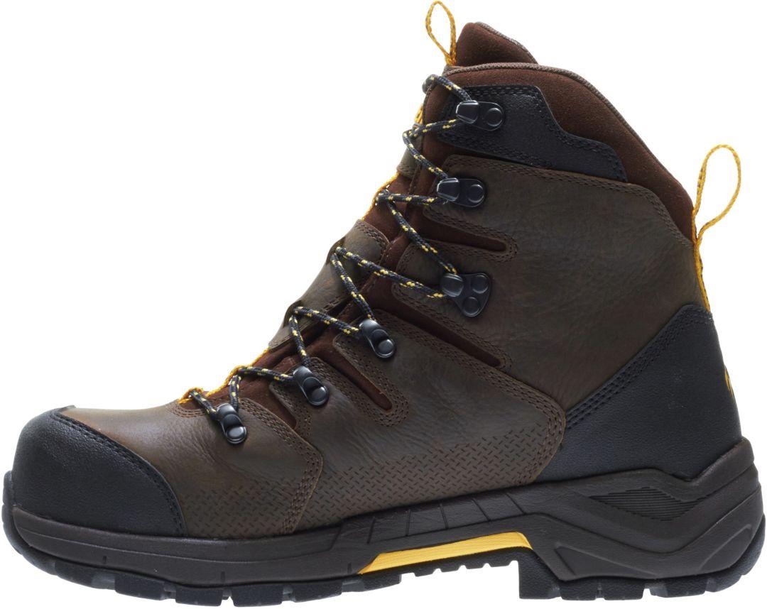 c39364aa72c Wolverine Men's Contractor LX 8'' CarbonMAX Waterproof Composite Toe Work  Boots