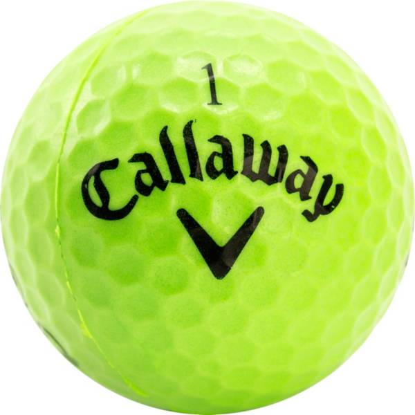 Callaway HX Lime Practice Balls - 18 Pack product image