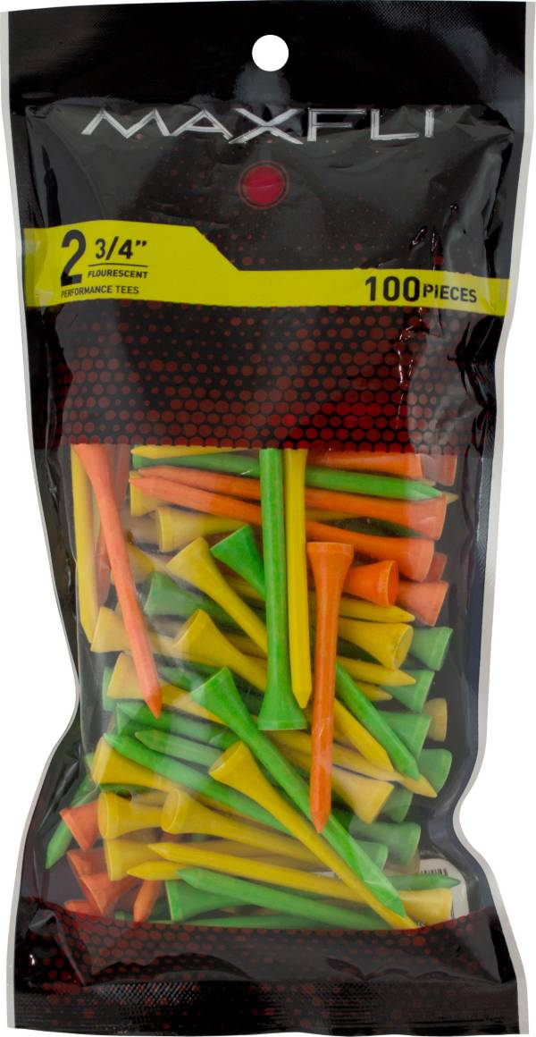 Maxfli 2 3/4'' Assorted Golf Tees - 100 Pack product image