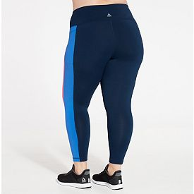 e27aecabef467 Reebok Women's Plus Size Side Panel Performance 7/8 Tights | DICK'S ...