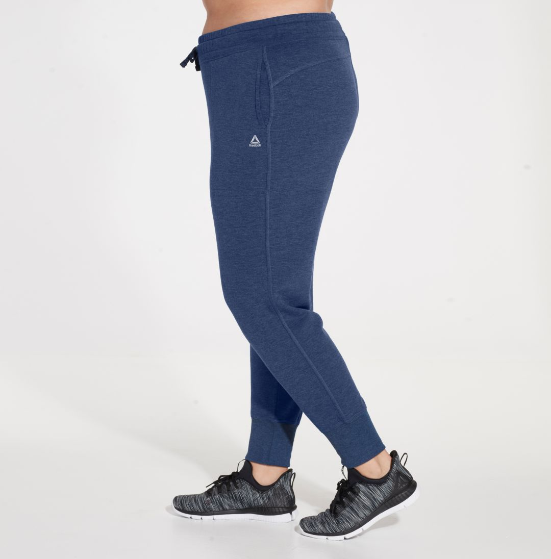 877f70b5 Reebok Women's Plus Size Fleece Jogger Pants