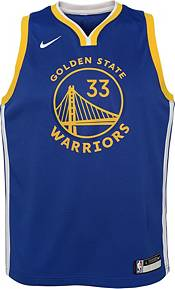 Nike Youth Golden State Warriors James Wiseman #33 Blue Dri-FIT Swingman Jersey product image